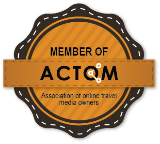 Badge member of the association of online travel media owners and travel bloggers Bulgaria