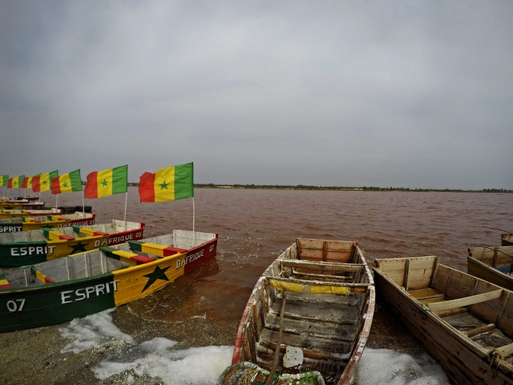 Senegal, Lac Rose