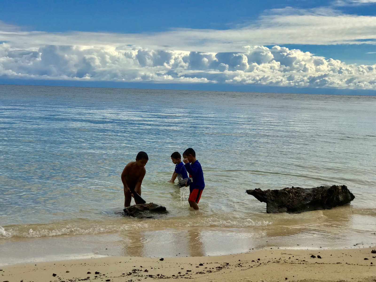 Honduras-children in Utila